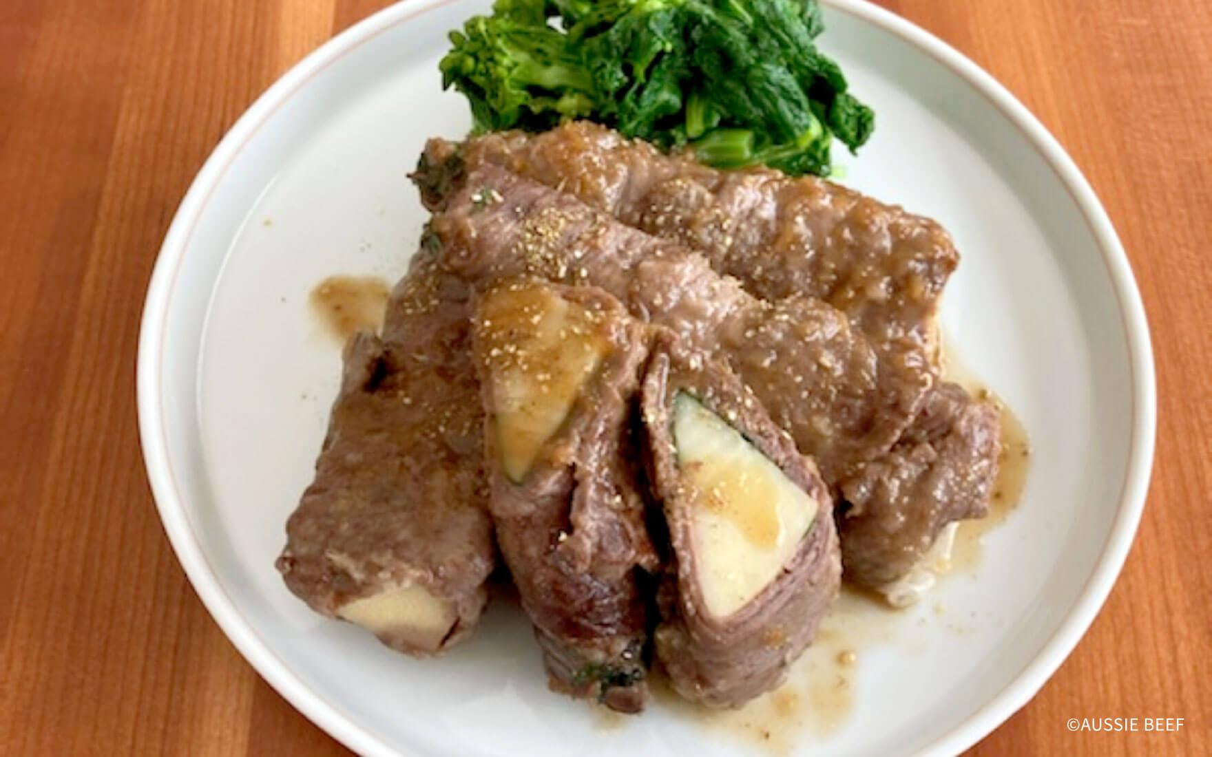 牛肉と、春の味覚・タケノコ/食物繊維とミネラルで栄養を補う